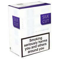 Silk Cut purple cigarettes