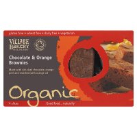 The Village Bakery organic brownies