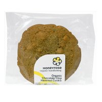 Honeyrose organic chocolate & hazelnut cookie