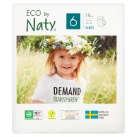 Nature Babycare Extra Large Nappy Pants 6, 16+ kg 18s