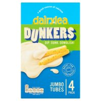 Dairylea Dunkers Jumbo Tubes 4 cheese snack packs
