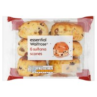 essential Waitrose sultana scones