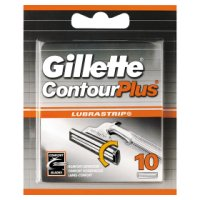 Gillette Contour Plus Razor Blades 10 count
