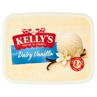 Kelly's Cornish dairy vanilla ice cream
