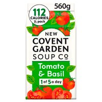 New Covent Garden plum tomato & basil soup