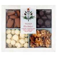 Waitrose Christmas Belgian chocolate nut collection