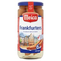 Meica 6 frankfurters