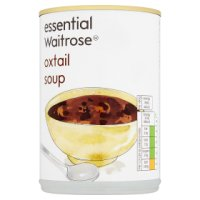 essential Waitrose oxtail soup