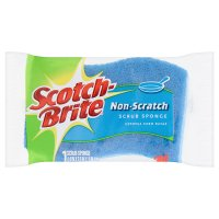 Scotch-brite no scratch scrub sponge