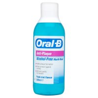 Oral B anti-plaque mint mouthrinse