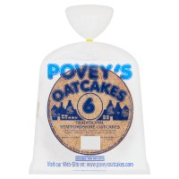 Povey's traditional Staff oatcakes