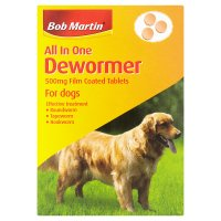 Bob Martin wormer for dogs tablets