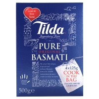 Tilda cook in a bag basmati rice