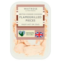 Waitrose British flamegrilled chicken pieces