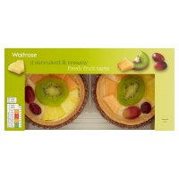 Waitrose fresh fruit tarts