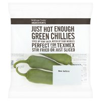 Waitrose Cooks' Ingredients chillies green