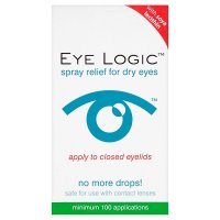 Eye Logic spray relief for dry eyes