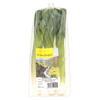 Heart of England organic leeks