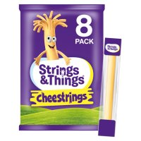 Cheestrings 8 pack Original