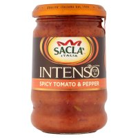 Sacla spicy pepper pasta sauce