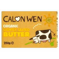 Calon Wen slightly salted butter