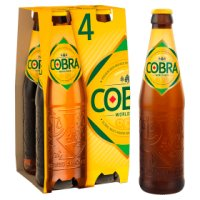 Cobra premium beer extra smooth (4x330ml)