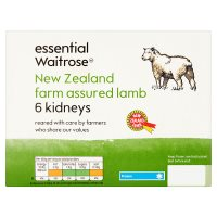Waitrose New Zealand farm assured lamb kidneys