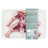 Waitrose 4 hand cut New Zealand lamb cutlets