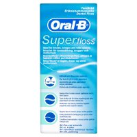 Oral B Super Floss Strands Mint