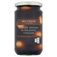Waitrose pickled onions in balsamic