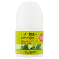 Tisserand Aromatherapy Tea Tree + 24-Hour Protection Deodorant 35ml