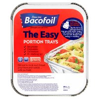 BacoFoil portion trays & lids small