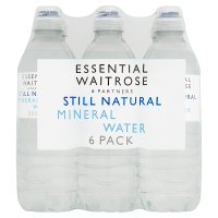 essential Waitrose still mineral water sports cap