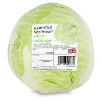 essential Waitrose white cabbage