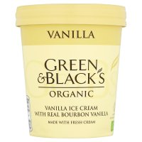 Green & Blacks Organic Vanilla Ice Cream