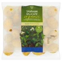 Waitrose Organic new potatoes