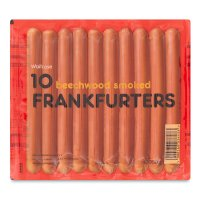 Waitrose farm assured 10 frankfurters, beechwood smoked