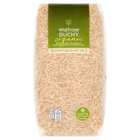 Waitrose LOVE life organic brown basmati rice
