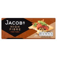 Jacob's high fibre cream crackers