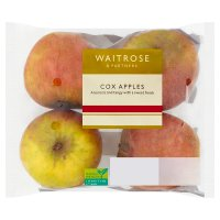 Waitrose Cox Apples traypack