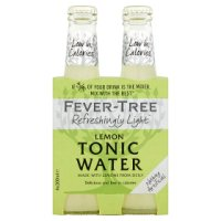 Fever-Tree premium lemon tonic, 4 pack