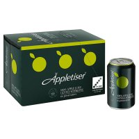 Appletiser 100% apple juice gently sparkling multipack cans