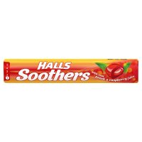 Halls peach & raspberry Soothers