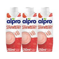 Alpro strawberry shake