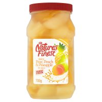 Nature's Finest Pear, Peach & Pineapple (in juice)