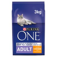 Purina ONE Adult Cat rich in chicken & whole grains dry food