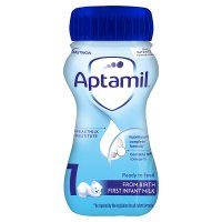 Milupa Aptamil 1 first infant milk, 200ml