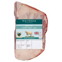 Waitrose Welsh half leg of lamb