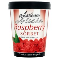 Rookbeare Farm raspberry sorbet