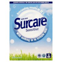 Surcare sensitive laundry powder 10 washes